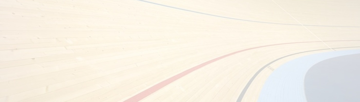 lignes de la piste vélodrome